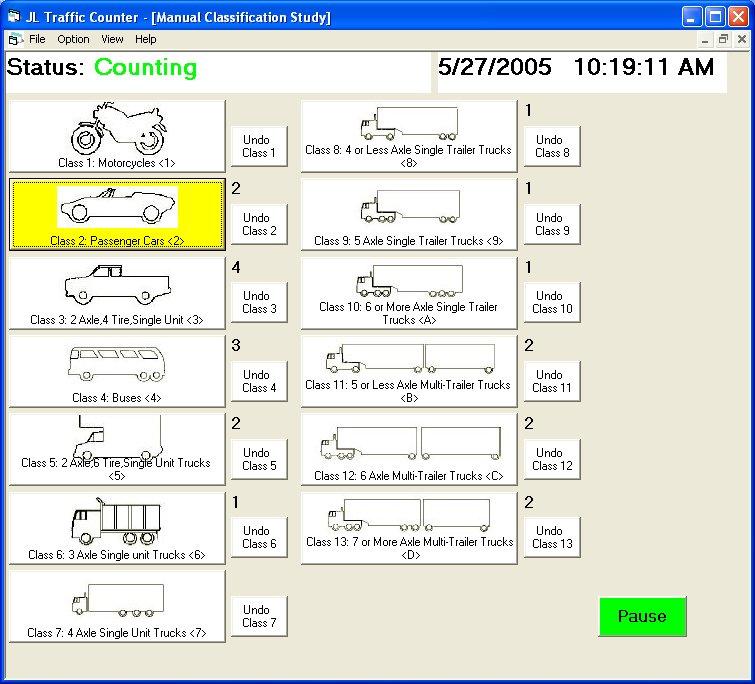 Vehicle Classification Study